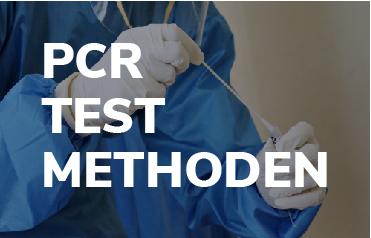 Medical Stuff holding PCR Test